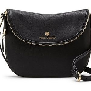 Like New-Vince Camuto Rizo Crossbody Leather Purse